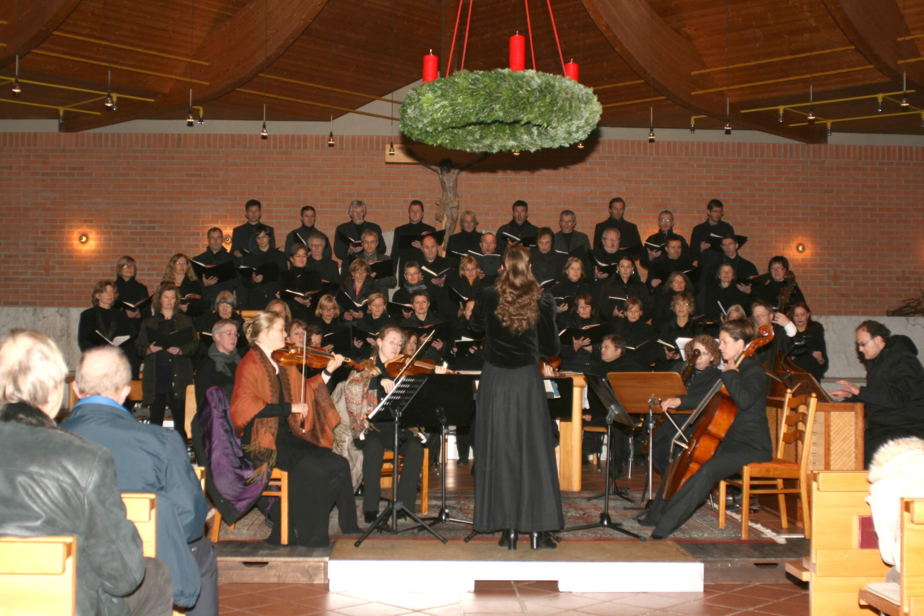 Bach-Konzert zum 1. Advent - Chor & Barockorchester Cantomania I